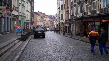 Ulica Głęboka w Cieszyien