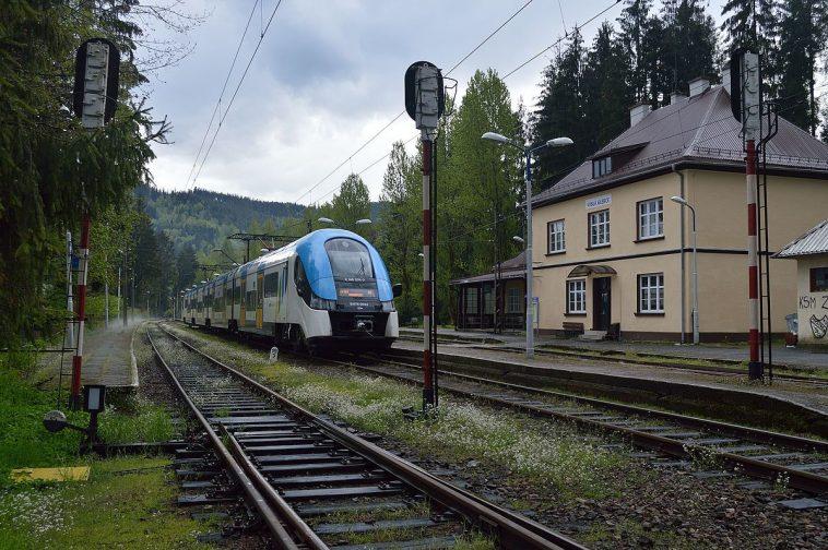 pożar pociągu pkp