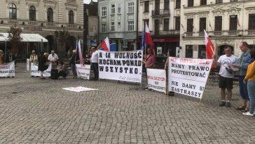 Manifestacja w Cieszynie