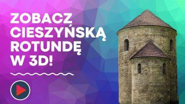 Rotunda na zamku w Cieszynie model 3d